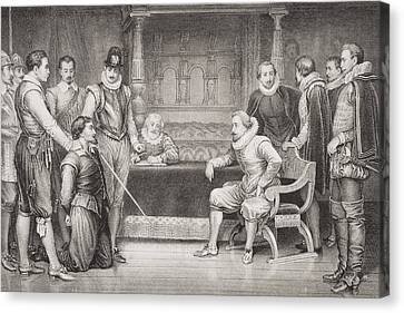 The Gunpowder Plot. Guy Fawkes Canvas Print