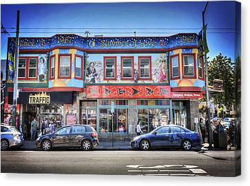 The Haight - Burger Urge - San Francisco Canvas Print