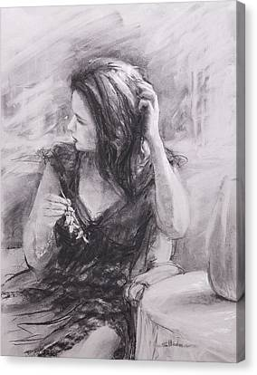 The Hairpin Canvas Print by Steve Henderson