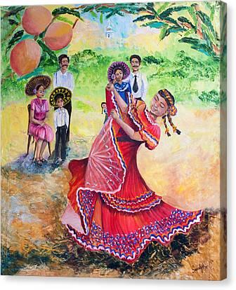 Sikh Art Canvas Print - The Half And Halves by Sarabjit Singh