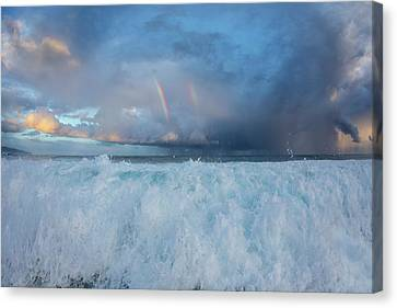 The Hand Of God Canvas Print by Sean Davey