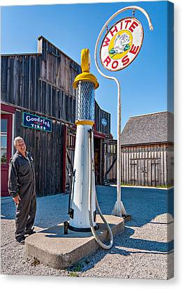 Pioneer Museum Canvas Print - The Happy Mechanic by Steve Harrington