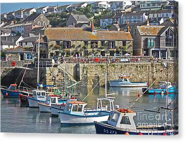 The Harbour Inn Porthleven Canvas Print