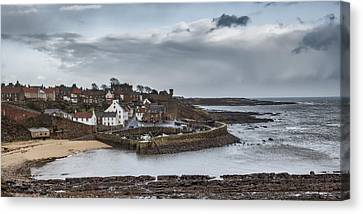 The Harbour Of Crail Canvas Print