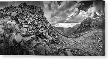 The Hare's Gap Canvas Print
