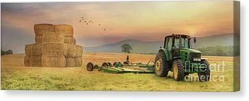 The Harvest Is Plentiful Canvas Print by Lori Deiter