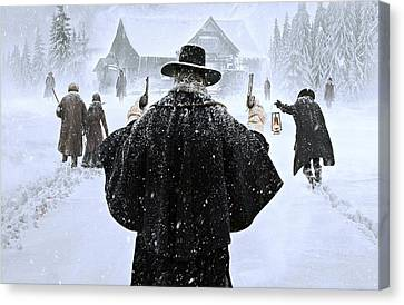 The Hateful Eight Canvas Print by Movie Poster Prints