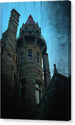 The Haunted Tower Canvas Print by Keith Boone