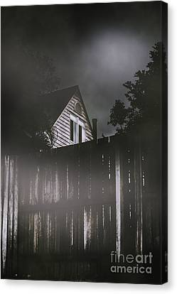 The Haunts Live Next Door Canvas Print
