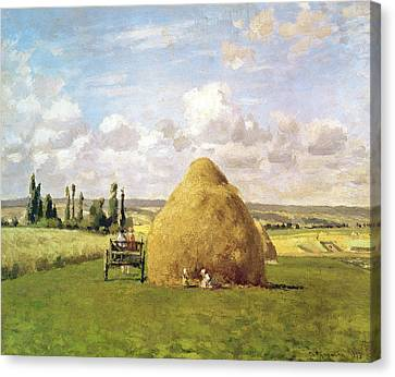 The Haystack Canvas Print