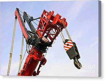 The Head And Primary Hoist Canvas Print