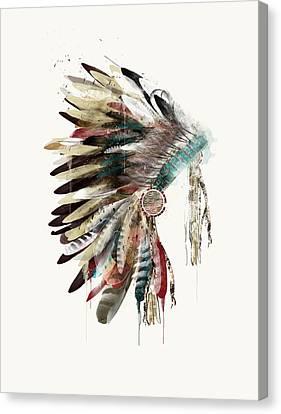 The Headdress Canvas Print