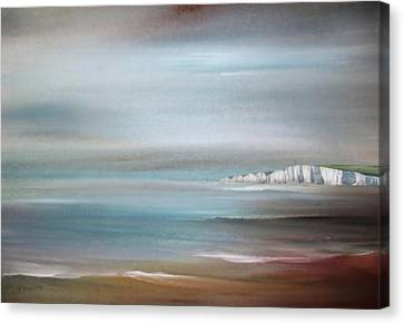 The Headland   Canvas Print