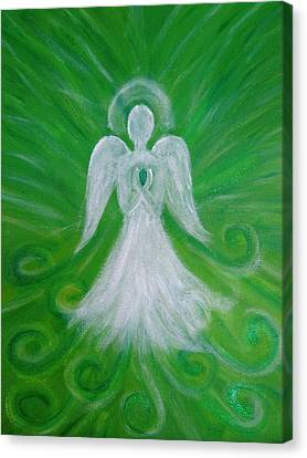 The Healing Angel Canvas Print