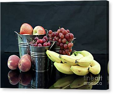 Canvas Print featuring the photograph The Healthy Choice Selection by Sherry Hallemeier