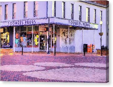The Heart Of Auburn Canvas Print