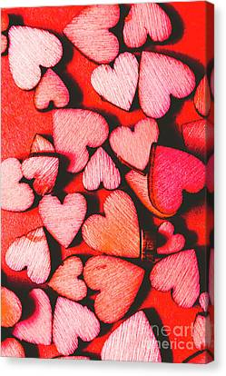 No Love Canvas Print - The Heart Of Decor by Jorgo Photography - Wall Art Gallery