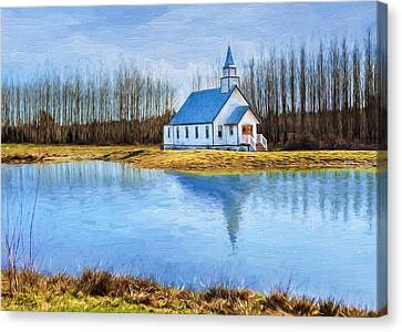 The Heart Of It All - Landscape Art Canvas Print by Jordan Blackstone
