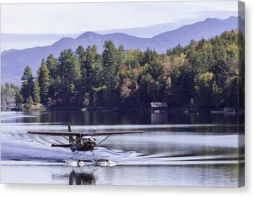 The Heart Of Long Lake Canvas Print by Everet Regal