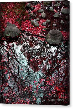 The Heart Of The Forest Canvas Print by Eena Bo