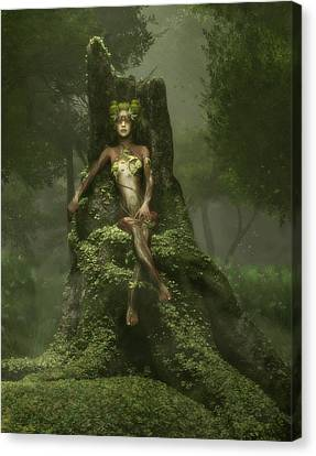 The Heart Of The Forest Canvas Print by Melissa Krauss