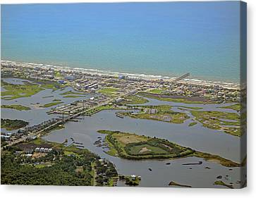 The Heart Of Topsail Island Canvas Print