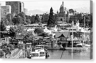 The Heart Of Victoria Canvas Print