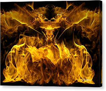 The Heat Of Passion Canvas Print by Bill Stephens