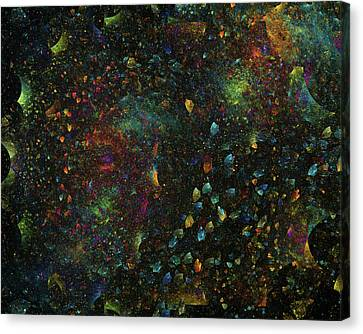 The Heavens Canvas Print by Betsy Knapp