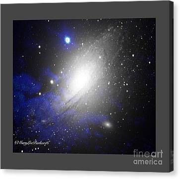 The Heavens Canvas Print by MaryLee Parker