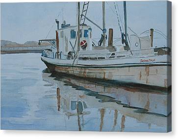 The Helen Mccoll At Rest Canvas Print by Jenny Armitage
