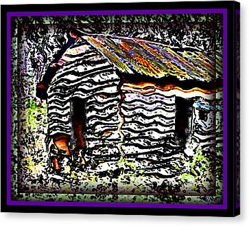 The Hideaway Canvas Print by Leslie Revels Andrews