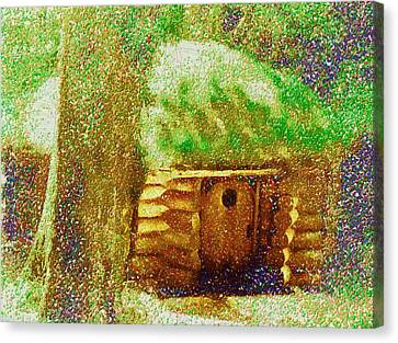 The Hideaway Of Bilbo Baggins Canvas Print
