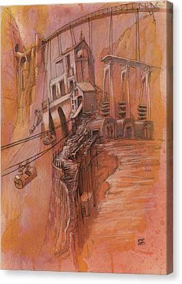 The High Pass  Canvas Print
