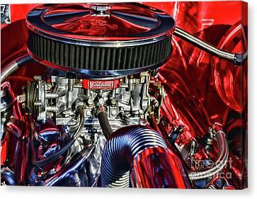 The High Performance Engine Canvas Print