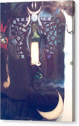 The High Priestess Canvas Print by Erika Brown