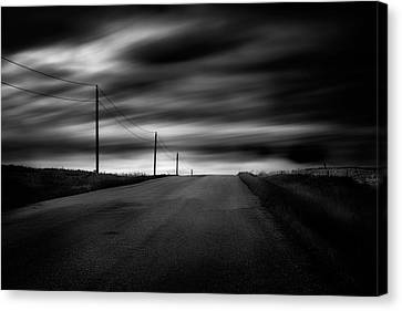 Canvas Print featuring the photograph The Highway by Dan Jurak