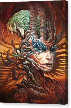 The Hithering Sleeve  Canvas Print by Ethan Harris