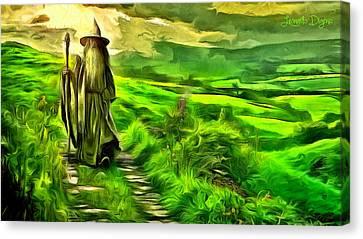 The Hobbit Canvas Print by Leonardo Digenio