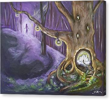 The Hollow Tree Canvas Print