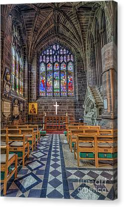 Canvas Print featuring the photograph The Holy Cross by Ian Mitchell