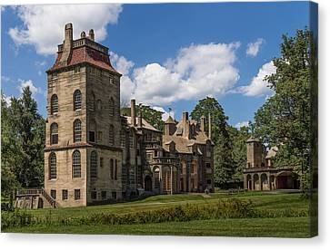 The Home Of Henry Mercer Canvas Print