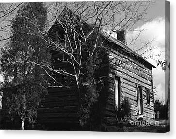 The Homestead Canvas Print by Richard Rizzo