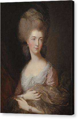 The Hon Mrs Anna Luttrell Duchess Of Cumberland  Canvas Print by Celestial Images