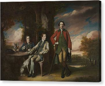The Honorable Henry Fane With Inigo Jones And Charles Blair Canvas Print