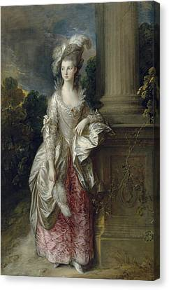 The Honourable Mrs Graham  Canvas Print by Thomas Gainsborough