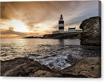 The Hook At Sunset Canvas Print
