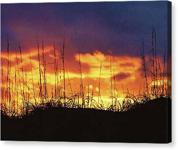The Horizon Is Burning Canvas Print