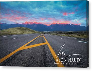 Canvas Print featuring the photograph The Hours by Jason Naudi