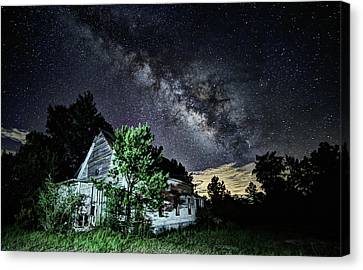 The Universe Canvas Print - The House Of God by JC Findley